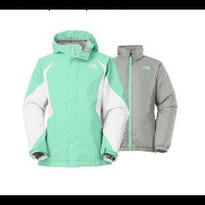 "The North Face Girls ""Kira"" Triclimate Ski Jacket"